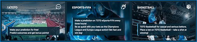 1xbet games 1XToto, E-sports FIFA, Basketball