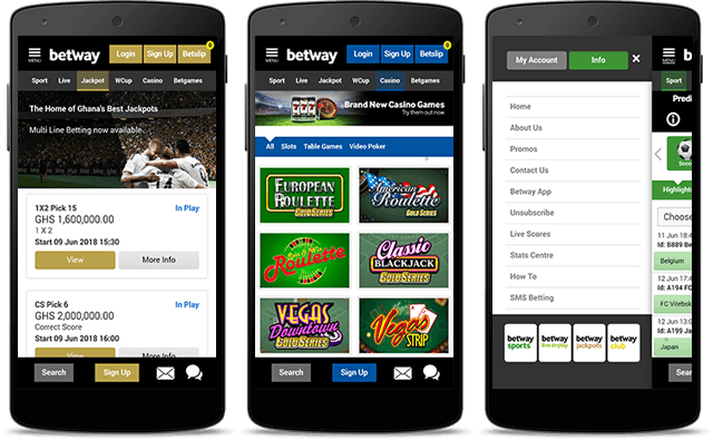 Betway mobile