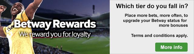 Betway rewards