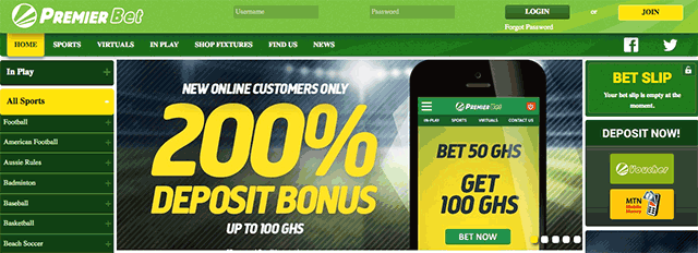 Premier betting ghana home nba sports betting philippines