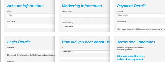 Mybet affiliate registration